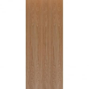 Internal Oak Fully Finished Basic Flush Solid FD30 Fire Door (GFCOAKL)