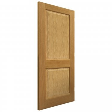 Internal Oak Fully Finished Classic Charrwood Solid FD30 Fire Door (VSO2PFD30)