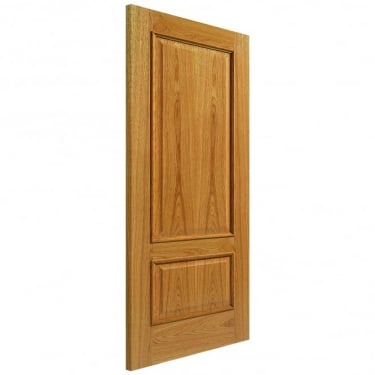 Internal Oak Fully Finished Classic Royale 12M Solid FD30 Fire Door with Raised Mouldings (12MHH-O)