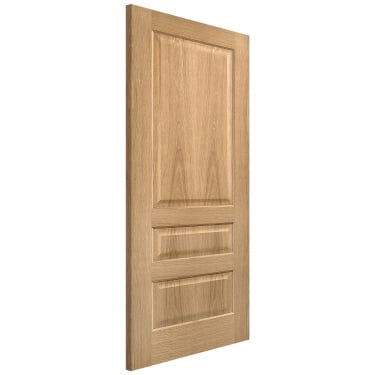 Internal Oak Fully Finished Contemporary 3P Door (PFOCON3P)