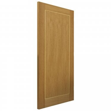 Internal Oak Fully Finished Contemporary Diana FD30 Fire Door (ODIAFD30)
