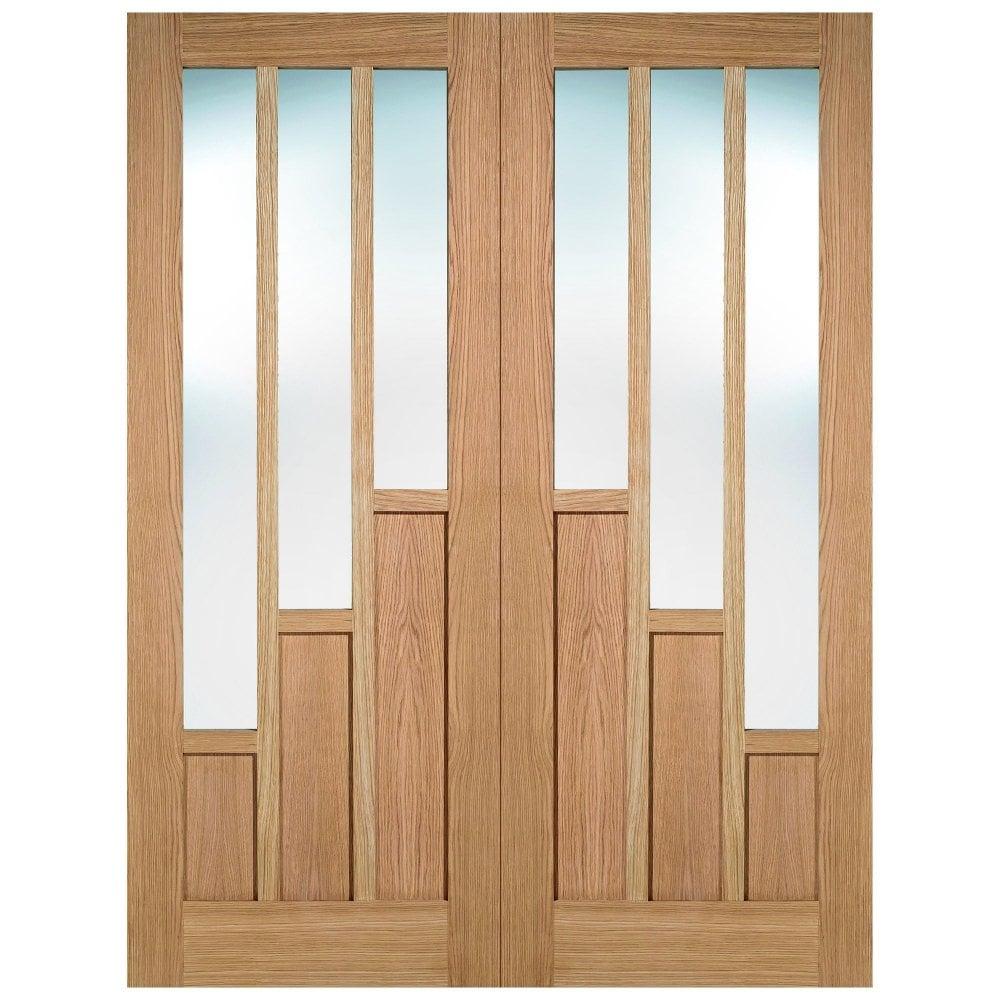 Lpd Internal Oak Pre Finished Coventry Glazed Door