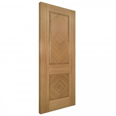 Internal Oak Fully Finished Kensington Solid FD30 Fire Door (KENSF/DXFSC)