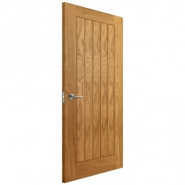 Internal Oak Fully Finished Keswick FD30 Fire Door (LIBOAKKESFD)