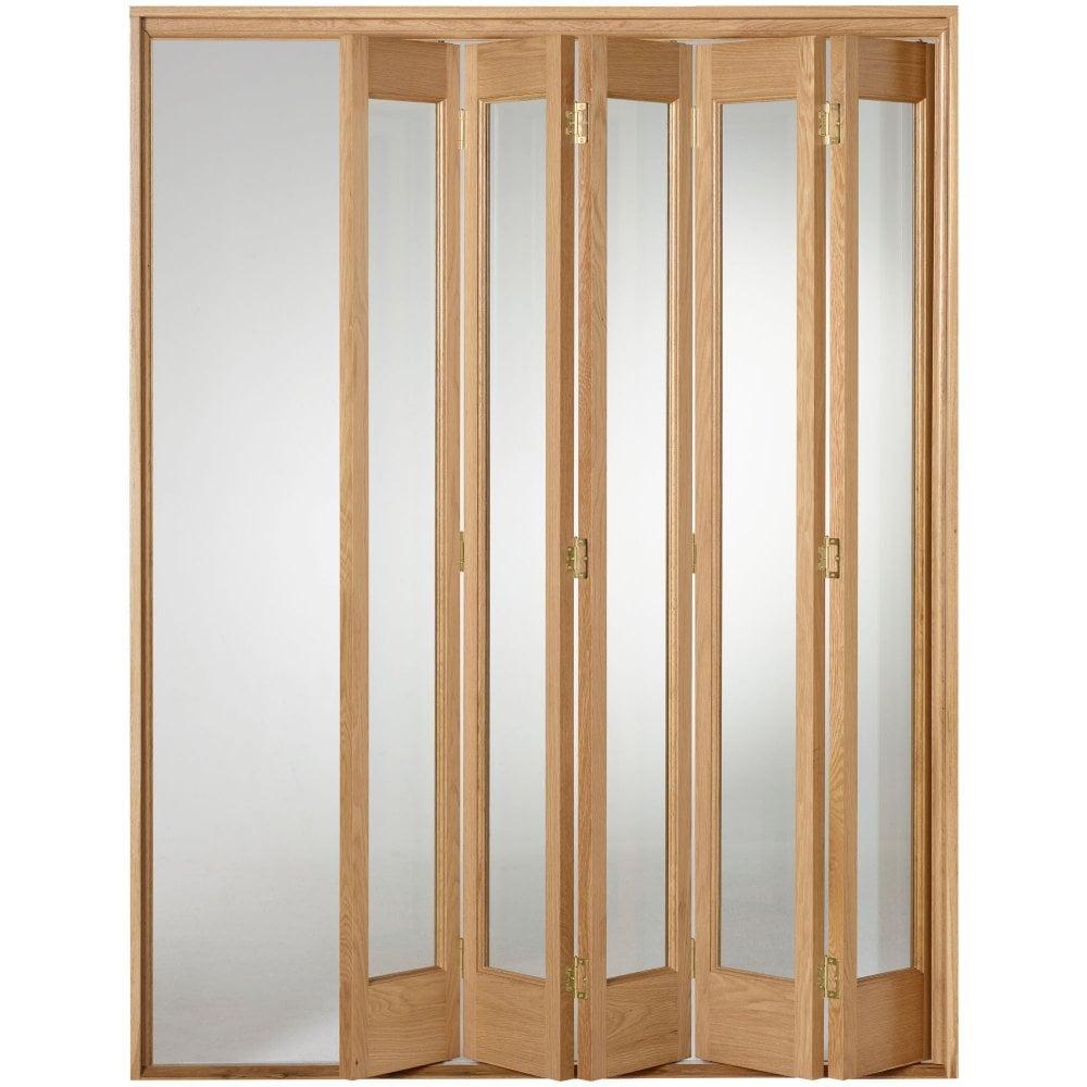 Liberty Doors Internal Oak Fully Finished Marston Folding Sliding