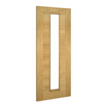Internal Oak Fully Finished Seville 1L Unglazed Solid Door (UK16GXFSC)