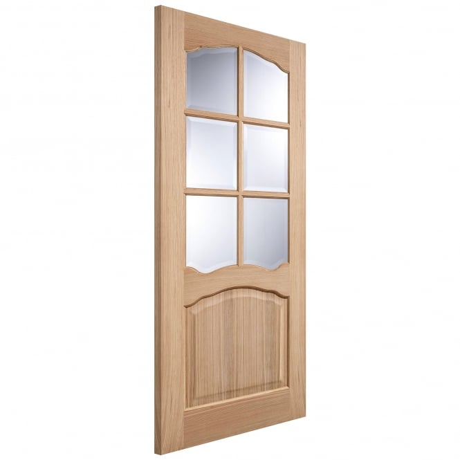 LPD Doors Internal Oak Pre-Finished Riviera 6 Light Door