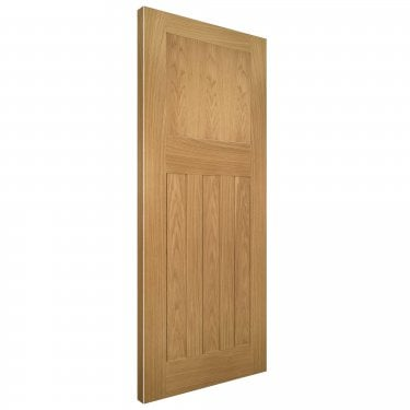 Internal Oak Unfinished Cambridge 4P FD30 Door (CAMBUNX)