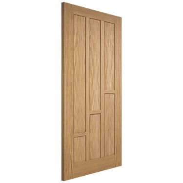 Internal Oak Unfinished Coventry FD30 Fire Door (COVOAKFC)