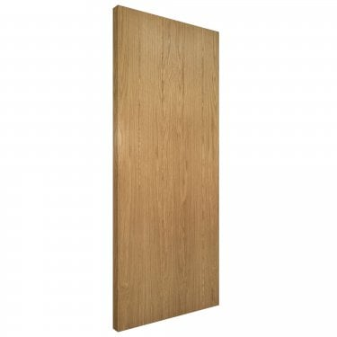 Internal Oak Unfinished Galway Solid FD30 Fire Door (GALF/DUNX)