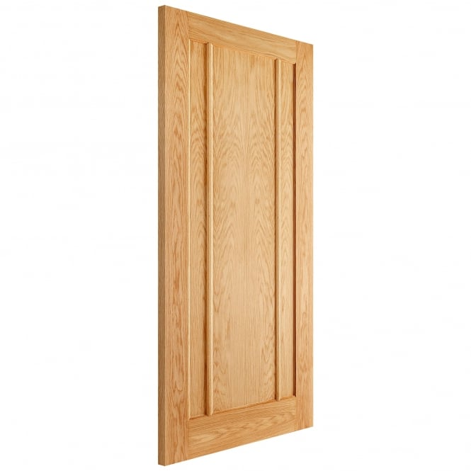 LPD Doors Internal Oak Unfinished Lincoln Contemporary Door