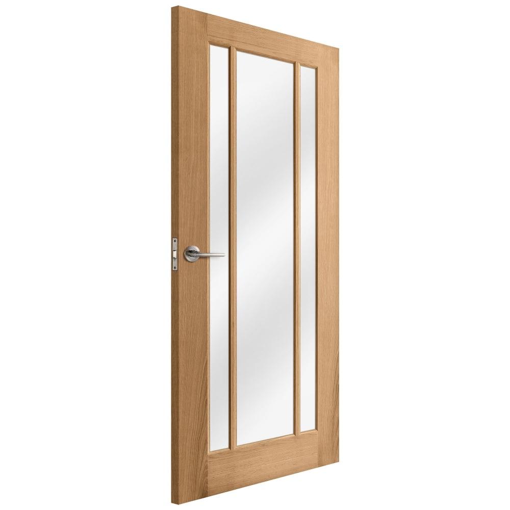 liberty internal oak unfinished toledo glazed door. Black Bedroom Furniture Sets. Home Design Ideas