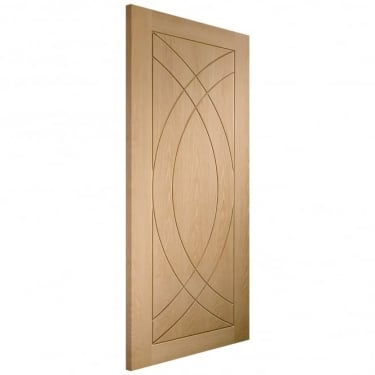 Internal Oak Unfinished Treviso FD30 Fire Door (INTOTRE-FD)