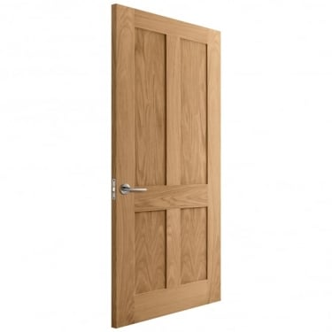 Internal Oak Unfinished Victorian Flat Door (IOMALT)