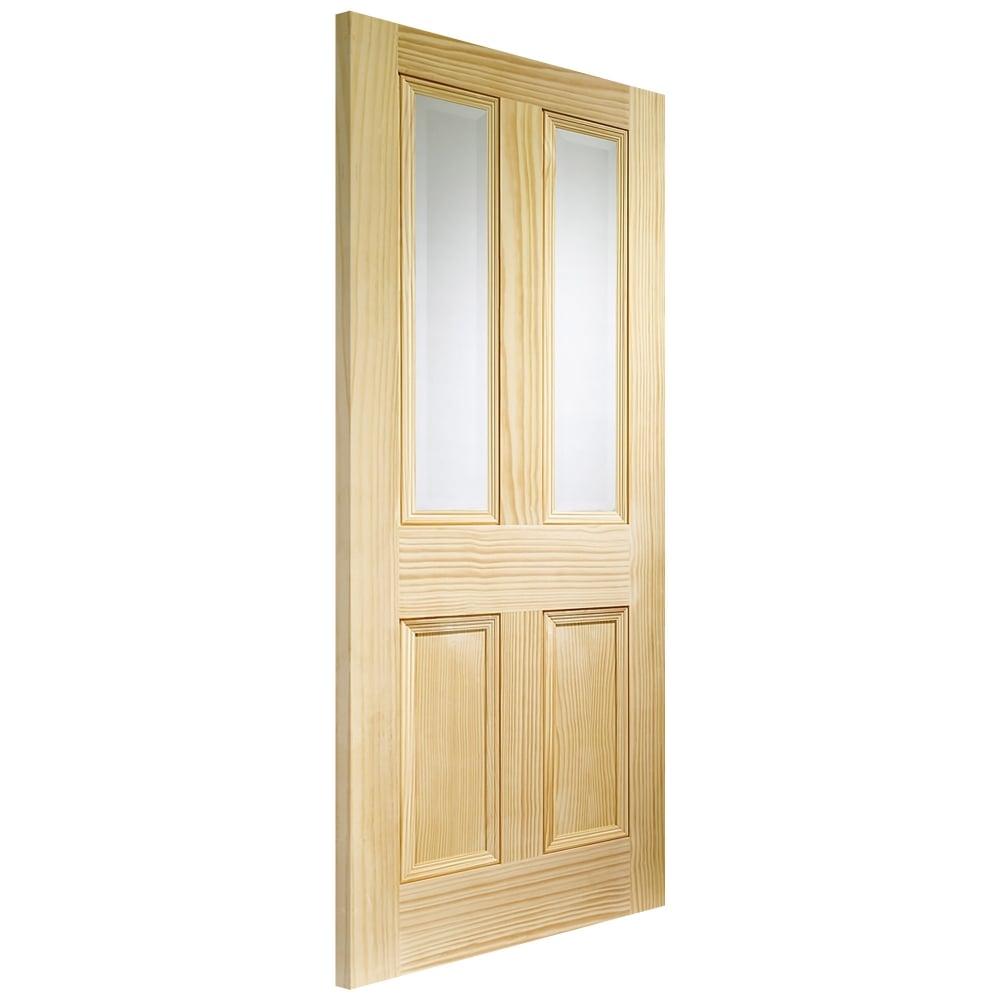 Xl Joinery Internal Pine Unfinished Edwardian Glazed Door