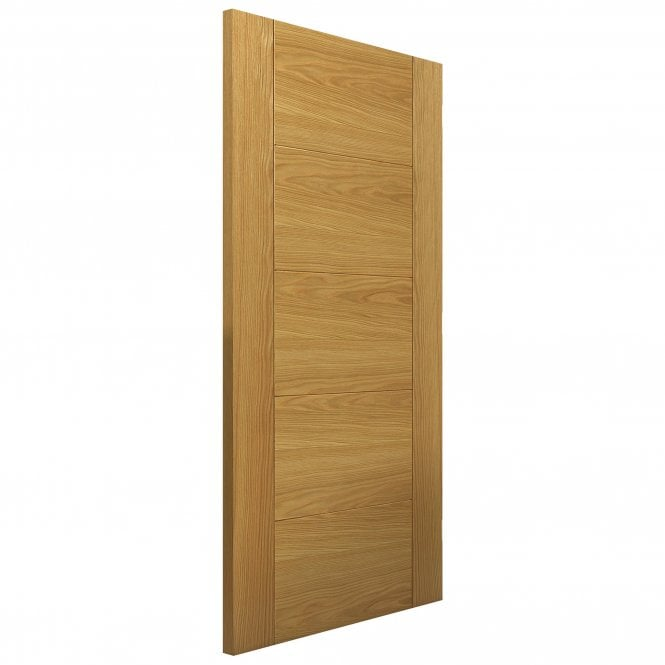 JB Kind Internal Pre-Finished Oak Tigris/Emral FD30 Fire Door
