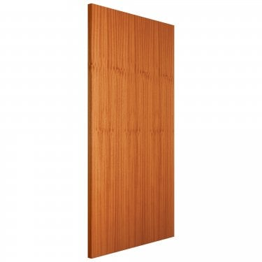 Internal Sapele Fully Finished Flush FD30 Fire Door (FLUSAPFD)