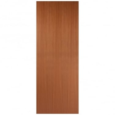 Internal Sapele Fully Finished Quarter Cut Flush 44mm FD30 Fire Door (SAPOVF)