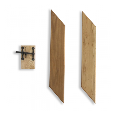Internal Solid Oak Lock Block/Bracing Pack (LBKIT)