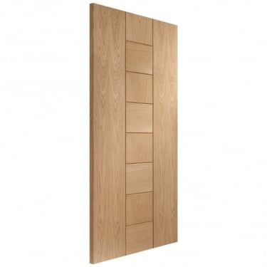Internal Un-Finished Oak Messina Fire Door