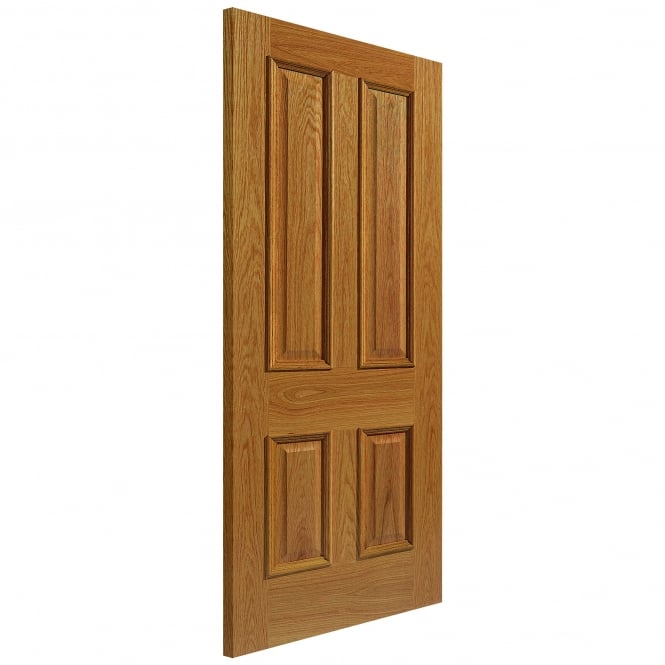 Internal Un-Finished Royale Traditional Oak E14Mn Door