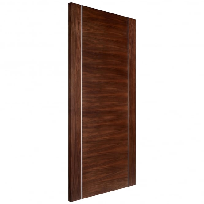 Internal Walnut Fully Finished Alcaraz Europa Fire Door