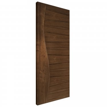 Internal Walnut Fully Finished Cadiz Solid FD30 Fire Door (CADWF/DXFSC)