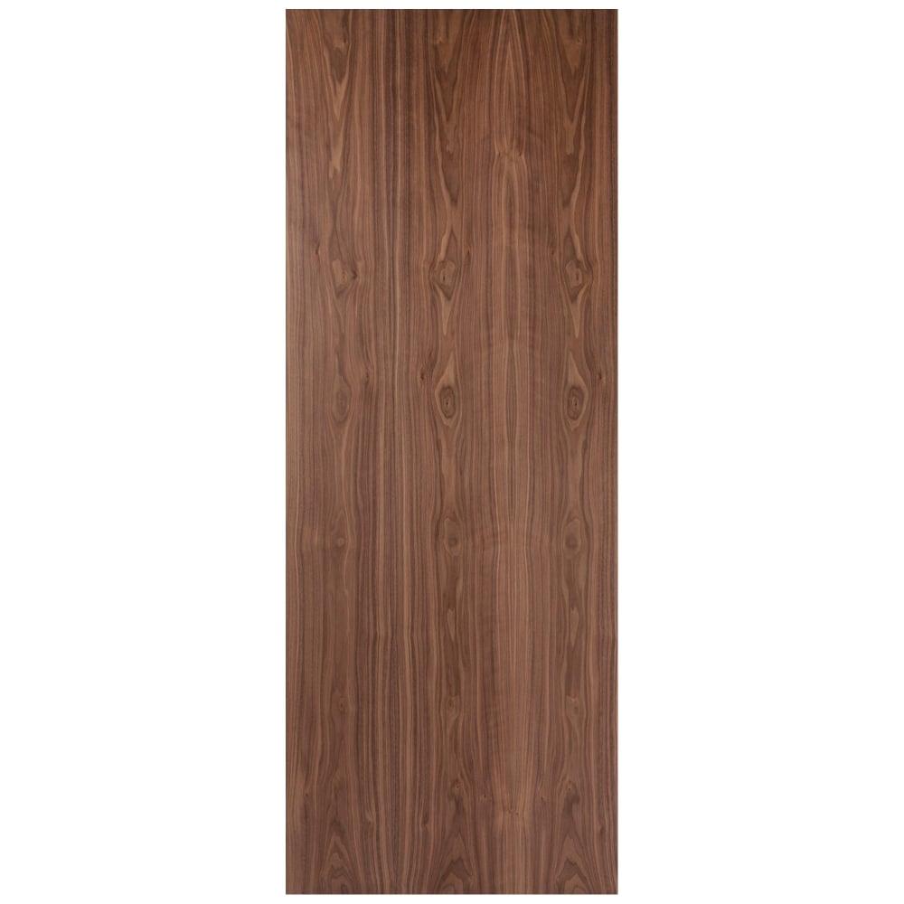 Jeld Wen Internal Walnut Pre Finished Crown Cut Door Leader Doors
