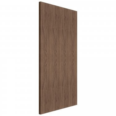 Internal Walnut Fully Finished Flush FD30 Fire Door (FLUWALFD)