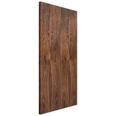 Internal Walnut Fully Finished Flush FD30 Fire Door (KWAL)