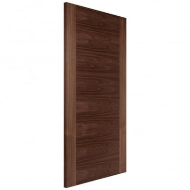 Internal Walnut Fully Finished Fusion Flush Heavyweight FD30 Fire Door (WALHVSF)