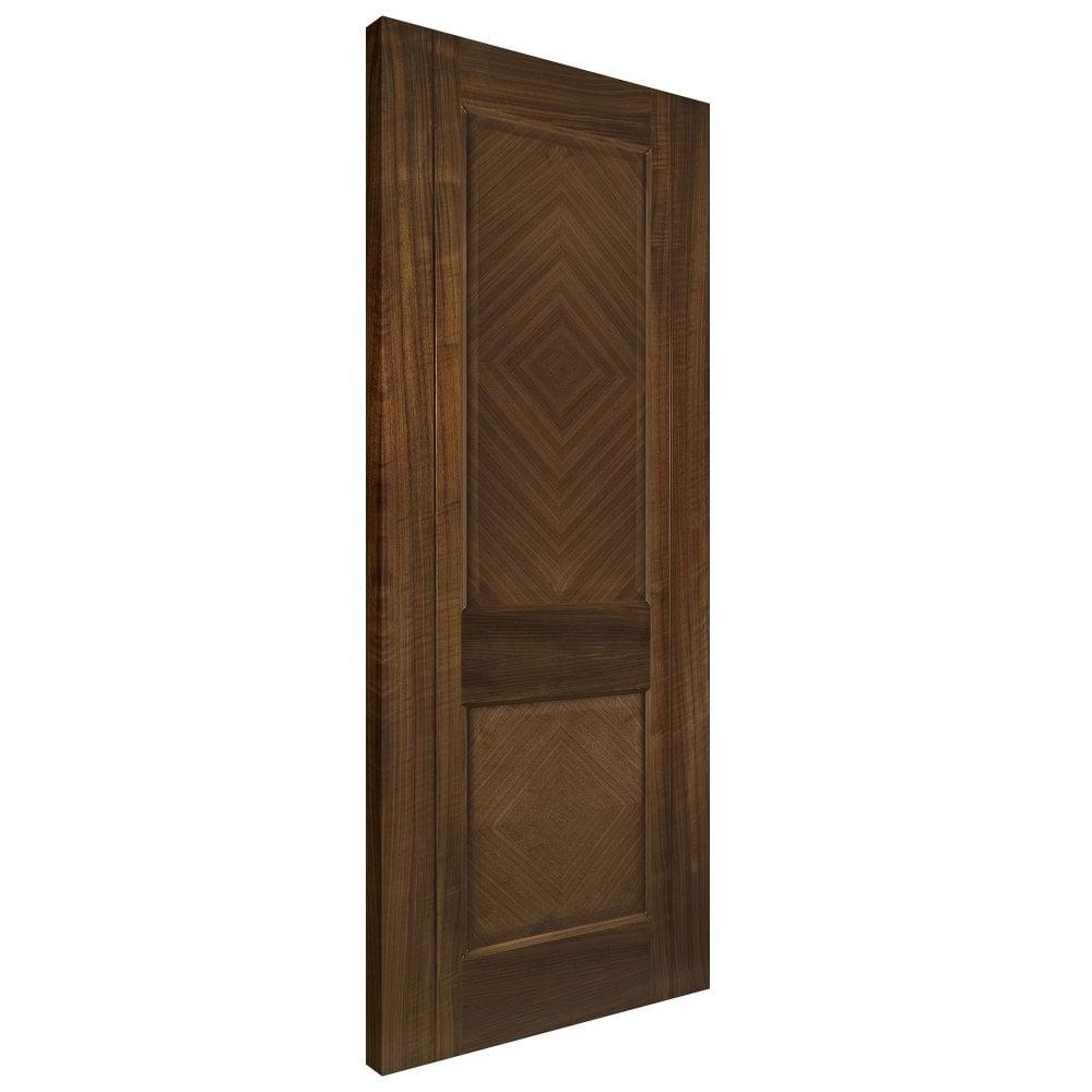 Deanta Internal Walnut Pre Finished Kensington Door