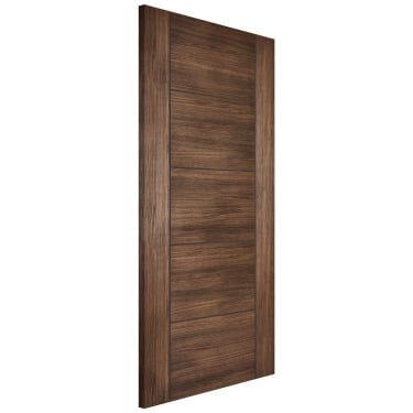 Internal Walnut Fully Finished Laminate Vancouver Door (LAMWALVAN)