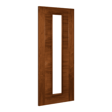 Internal Walnut Fully Finished Seville 1L Unglazed Solid Door (UK16GWXFSC)