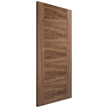 Internal Walnut Fully Finished Vancouver FD30 Fire Door (WALVANFC)