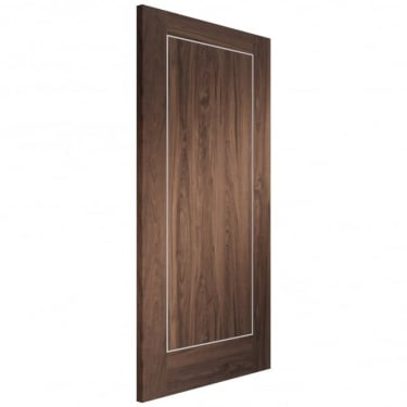Internal Walnut Fully Finished Varese FD30 Fire Door (PFWALVAR-FD)