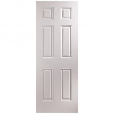 Internal White Moulded Arlington Door