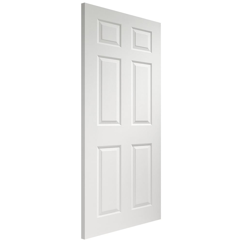 Xl Joinery Internal White Moulded Pre Finished Colonist Door