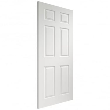 XL Joinery Internal White Moulded Pre-Finished Colonist 6 Panel Door