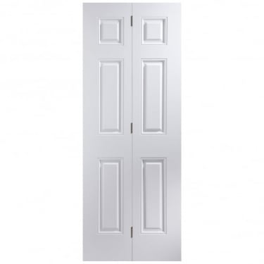 Internal White Moulded Unfinished Arlington Bi-Fold Door (BIAR)