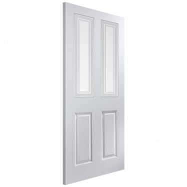 Internal White Moulded Unfinished Atherton 2L Door with Marginal Bar Glass (APATH+MB)
