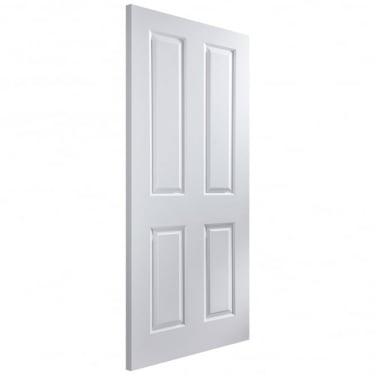 Internal White Moulded Unfinished Atherton 35mm FD30 Fire Door (ATH35F)