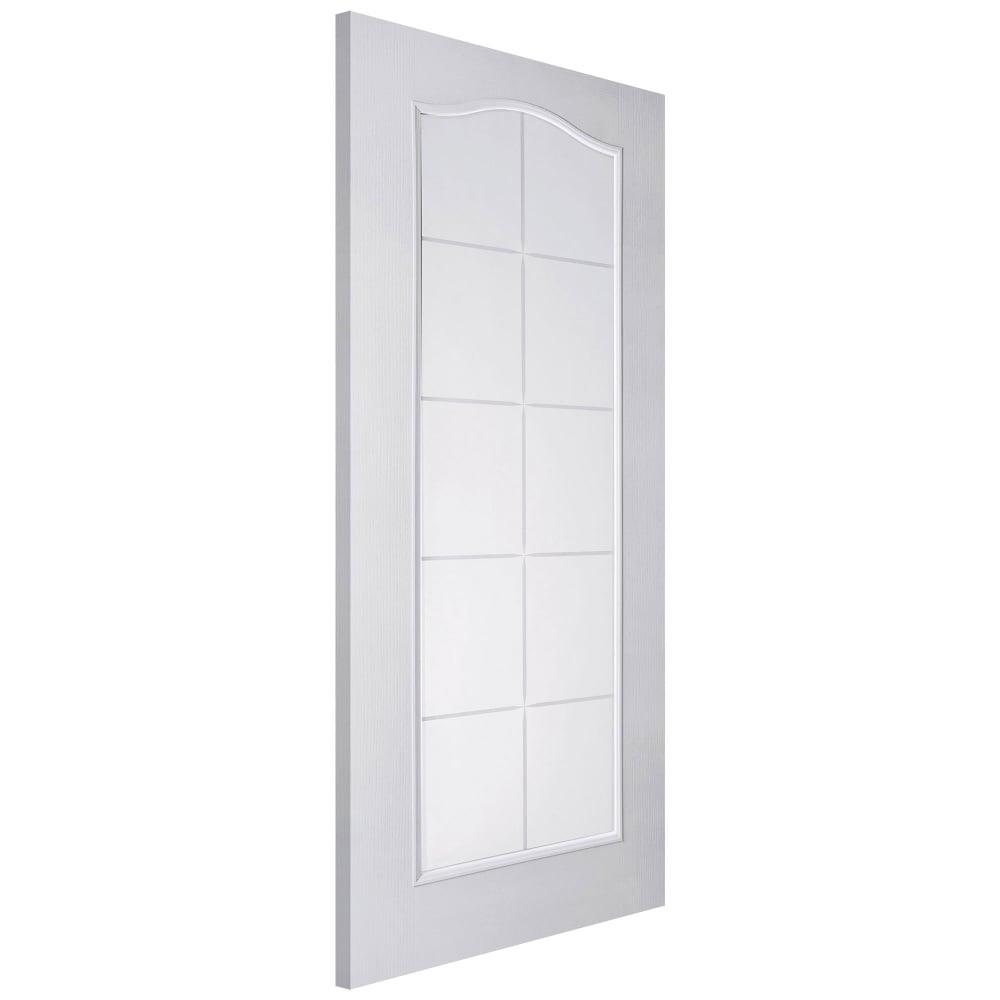 Jeld-Wen Internal White Moulded Unfinished Camden Glazed Door ...