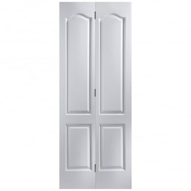 Internal White Moulded Unfinished Camden Bi-Fold Door (BICM)