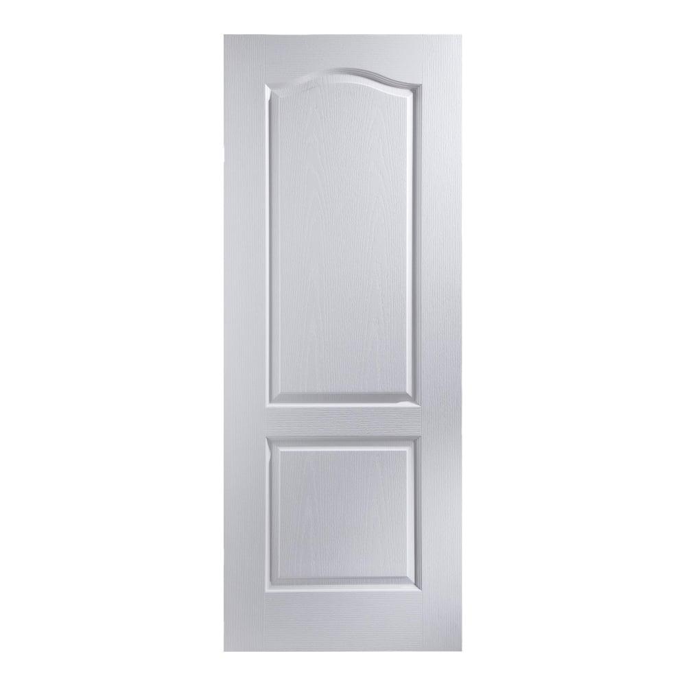 Jeld Wen Internal White Moulded Unfinished Camden Door Leader Doors