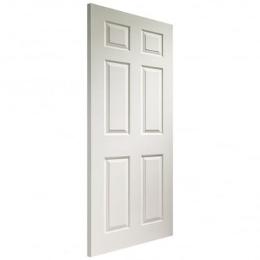 Internal White Moulded Unfinished Colonist FD30 Fire Door (WM6PFD)