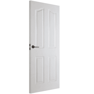 Internal White Moulded Unfinished Mayfair Door (MAY4P)