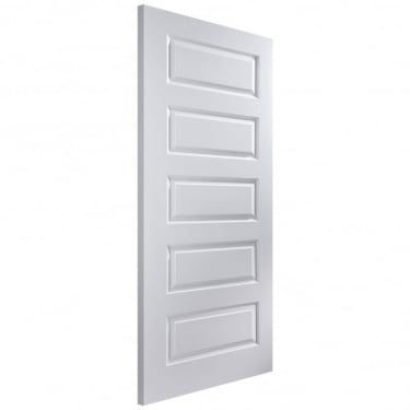 Internal White Moulded Unfinished Rockport Door (ROCK)