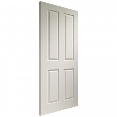 Internal White Moulded Unfinished Victorian Door (WDWMV4)