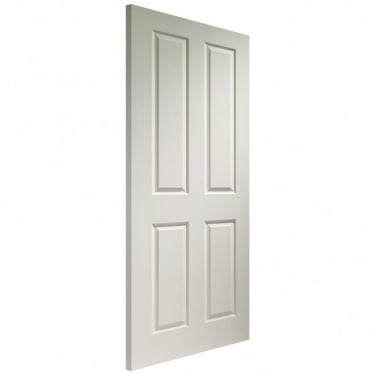 Internal White Moulded Unfinished Victorian FD30 Fire Door